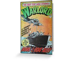 Warlord - Drake 3 Greeting Card