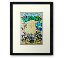 Warlord - The Curse of Kiva Framed Print