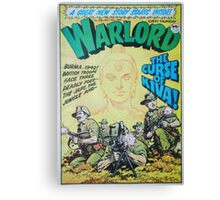 Warlord - The Curse of Kiva Canvas Print