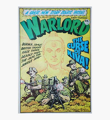 Warlord - The Curse of Kiva Photographic Print