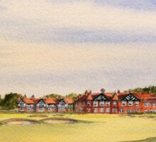 Royal Lytham And St Annes 18Th Hole Sticker