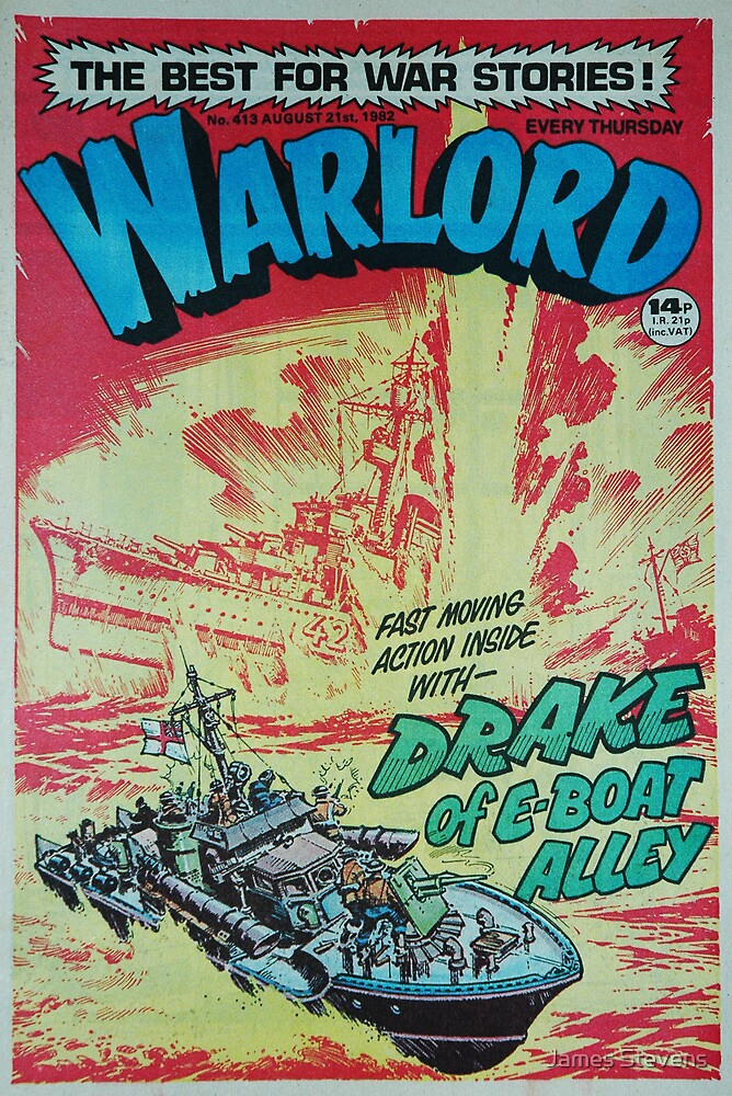Warlord - Drake 4 by James Stevens