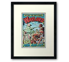 Warlord - Peter Flint Framed Print