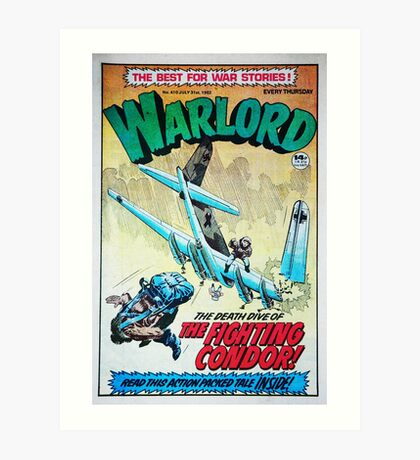 Warlord - The Fighting Condor Art Print