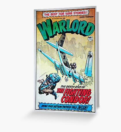 Warlord - The Fighting Condor Greeting Card
