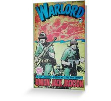 Warlord - Union Jack Jackson Greeting Card