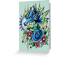Seadra  Greeting Card
