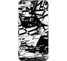 Funk (black and white) iPhone Case/Skin