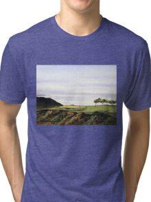 Torrey Pines South Golf Course Hole 3 Tri-blend T-Shirt