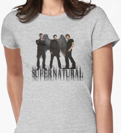 Supernatural FanArt Womens Fitted T-Shirt