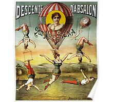 Vintage Circus Poster Poster