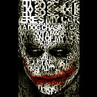 Hallowen Typograph Clown - iphone 5, iphone 4 4s, iPhone 3Gs, iPod Touch 4g case, Available for T-Shirt man and woman by pointsalestore Corps