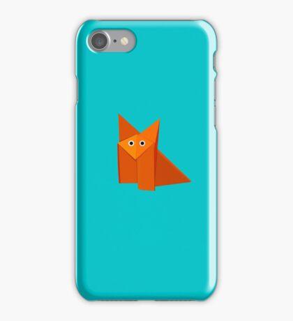 Cute Origami Fox iPhone Case iPhone Case/Skin