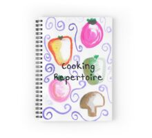 Cooking Repertoire Spiral Notebook
