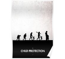 99 Steps of Progress - Child protection Poster