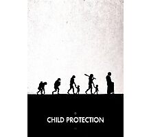 99 Steps of Progress - Child protection Photographic Print