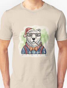 Dapper Christmas Bear T-Shirt