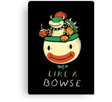 like a bowse Canvas Print
