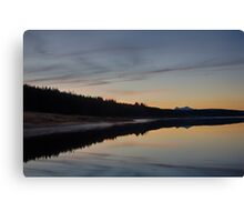 Assynt Reflections Canvas Print