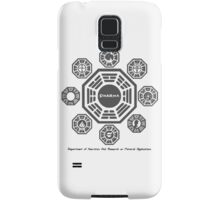 Dharma project Samsung Galaxy Case/Skin