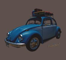 VW Surf Rod T-Shirt & iPhone Cover Kids Clothes