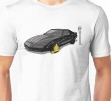 Knight Rider KITT Car Wheel Clamp  Unisex T-Shirt