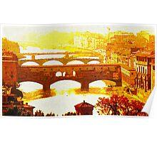 'Ponte Vecchio' Poster