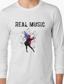 REAL MUSIC Long Sleeve T-Shirt
