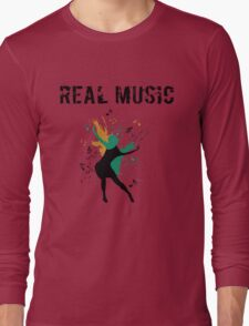 REAL MUSIC Long Sleeve T-Shirt
