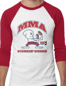 Fightin' Dudes Men's Baseball ¾ T-Shirt