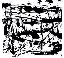 Ink blots Photographic Print
