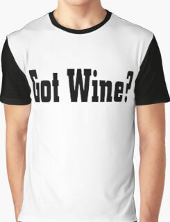 Wine Graphic T-Shirt