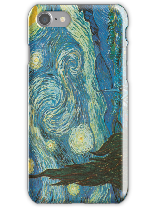 Van Gogh iPhone 5 Case - The Starry Night  by VanGoghCases