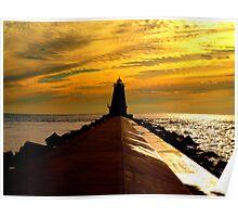 Ludington Lighthouse Poster