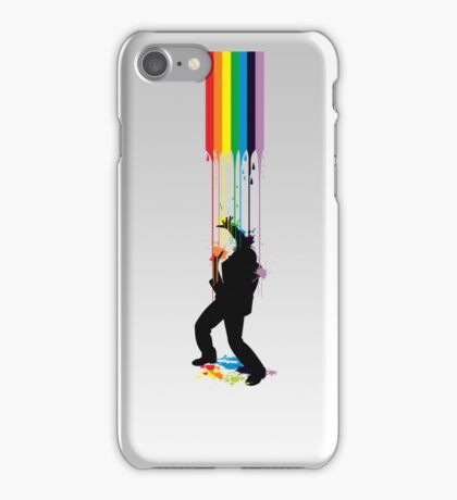 Somewhere Over the Rainbow - Someone's Getting Wet iPhone Case/Skin