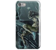 Trilobite Boy in the Rain iPhone Case/Skin