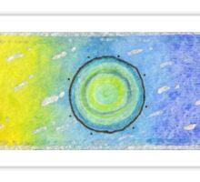Rainbow Sky Sticker