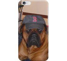 Baseball dog iPhone Case/Skin