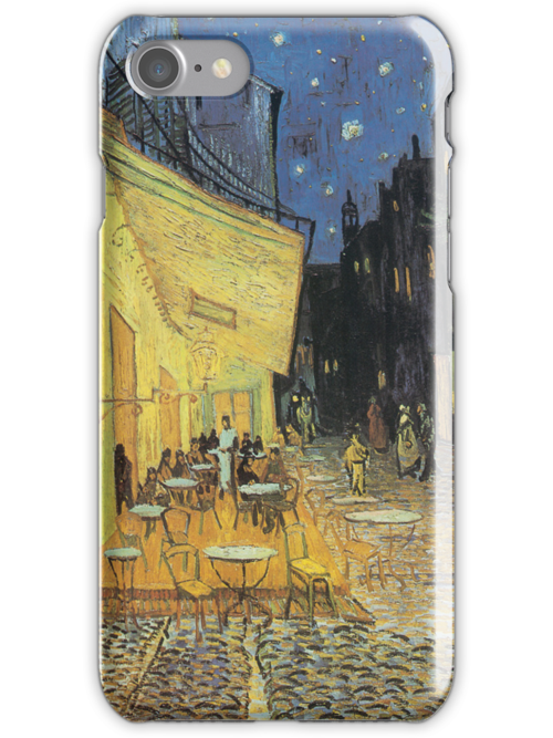 Van Gogh iPhone 5 Case - Cafe Terrace at Night  by VanGoghCases