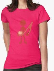 MUSIC GUY Womens Fitted T-Shirt