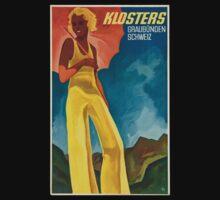 Vintage poster - Switzerland Kids Tee