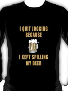 Beer Jogging T-Shirt
