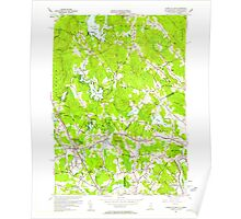 USGS TOPO Map New Hampshire NH Ayers Village 329470 1955 24000 Poster