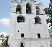 Belfry XVI century in Yaroslavl by pisarevg