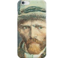 Van Gogh iPhone 5 Case - Self-Portrait with Grey Felt Hat iPhone Case/Skin