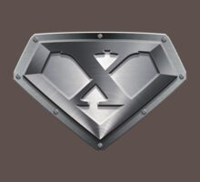 Steel Plated X Letter by adamcampen