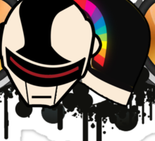 Daft Punk Speakers Sticker