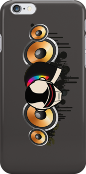 Daft Punk Speakers by eelectro11