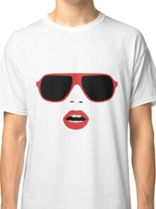 sexy retro woman Classic T-Shirt