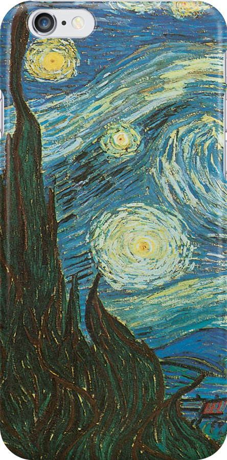 Van Gogh iPhone 5 Case - The Starry Night (Detailed) by VanGoghCases